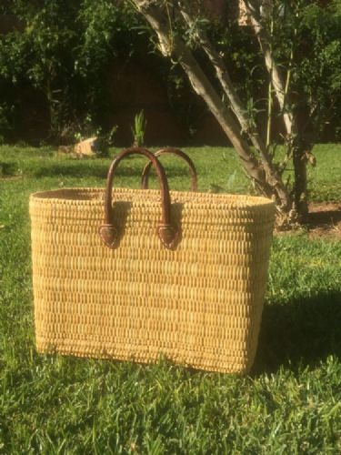 Moroccan Reed shopper/handbag available in 3 sizes